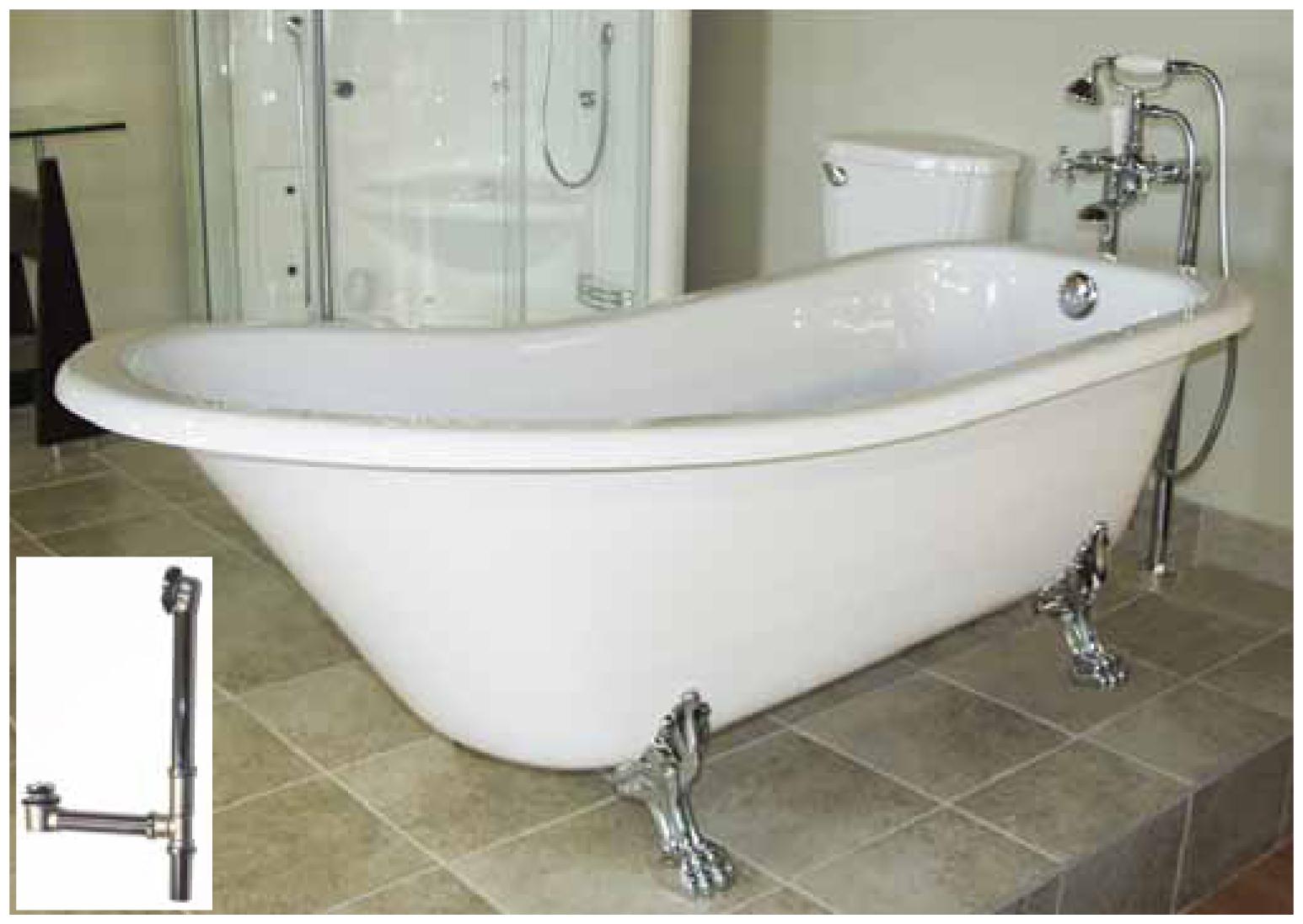 London 1021 c - Robinet bain sur pied ...